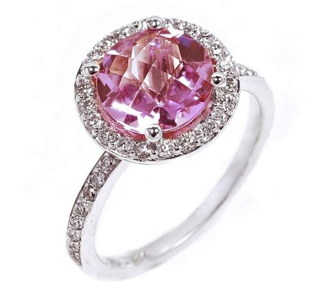 colored gem engagement rings wedding and bridal inspiration