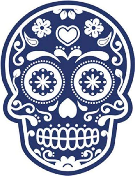 25 best ideas about sugar skull stencil on pinterest