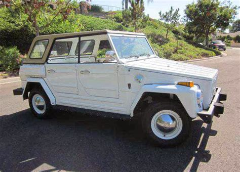 1974 volkswagen thing 1974 vw thing acapulco edition buy classic volks