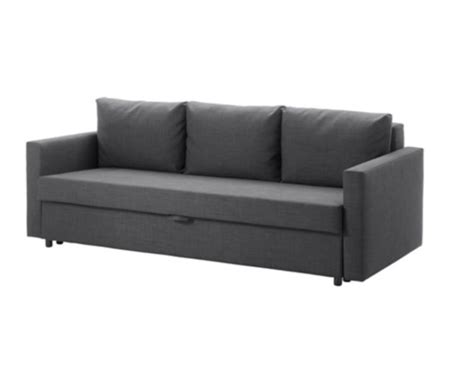 futon furniture calgary ikea quot friheten quot sofa bed dark grey couches futons