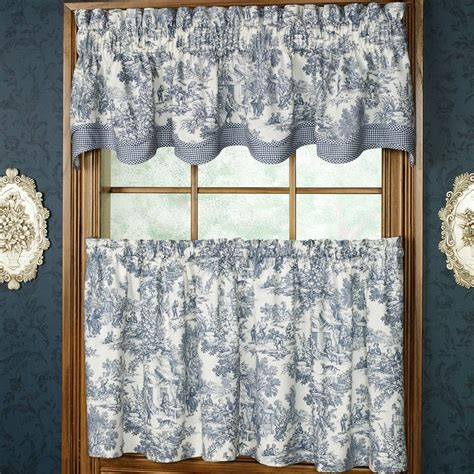 toile cafe curtains 86 best images about totally toille on pinterest valance