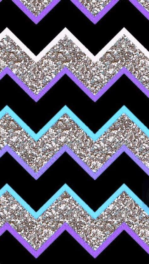 wallpaper glitter chevron purple teal grey glitter chevron iphone wallpapers