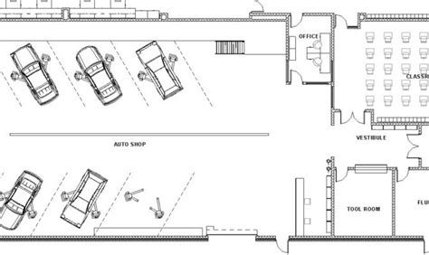 auto use floor plan awesome shop floor plans 21 pictures house plans 11038