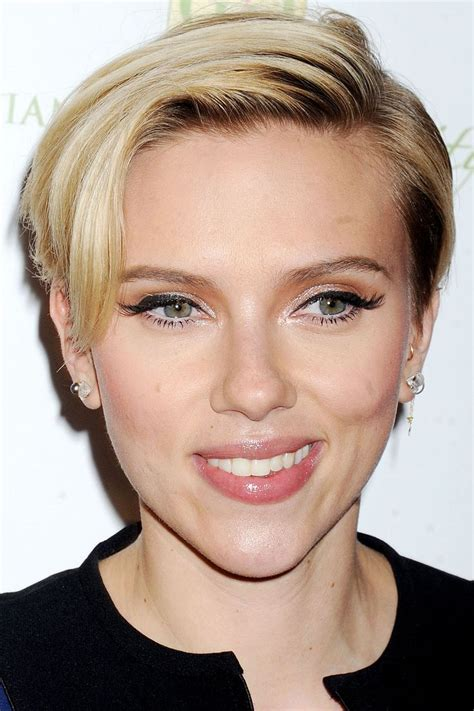 did scarlett johansson cut her hair 518 best images about hair styles on pinterest short