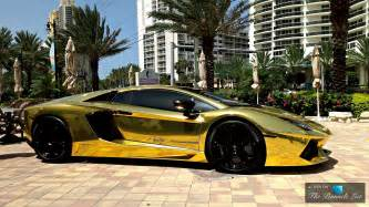 Gold Lamborghini In Dubai The Top Five Most Uber Expensive Luxury Supercars In The