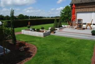 terrasse mit stufe kombinierte terrassen beemelmans garten und landschaftsbau