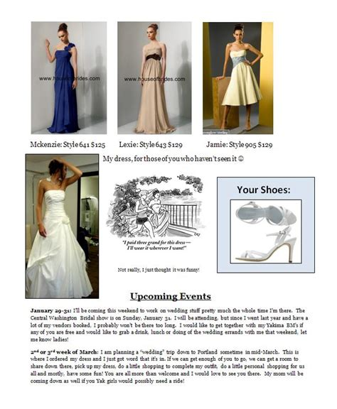 bridesmaid email template bridesmaid newsletter