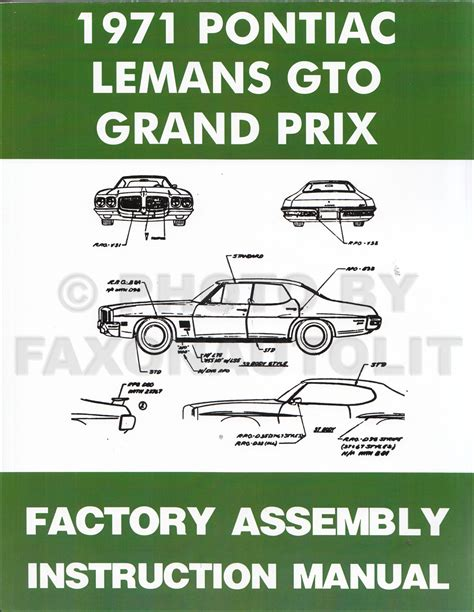 1964 1974 pontiac gto collector s guide to originality 1964 1974 pontiac gto collector s guide to originality