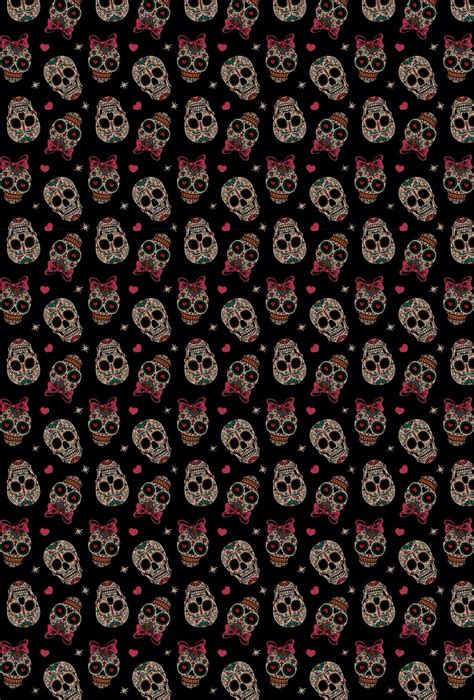 sugar skull wallpaper for home 52dazhew gallery