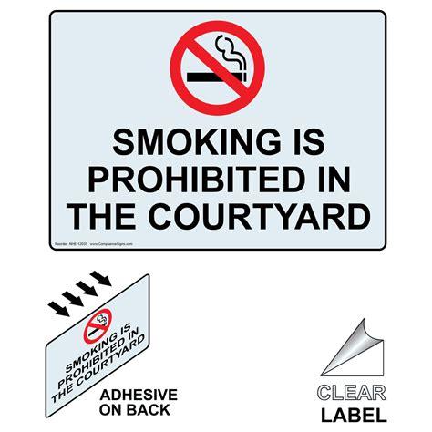 no smoking sign gov no smoking federal government signs