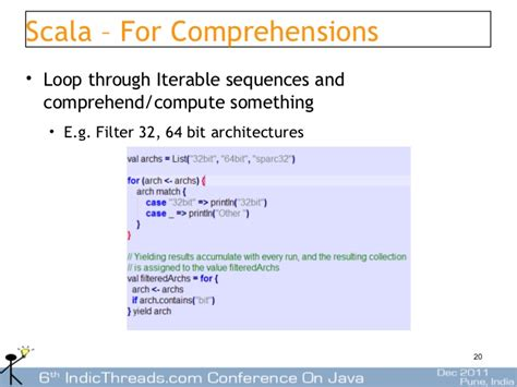 visitor pattern expression using scala for building dsls