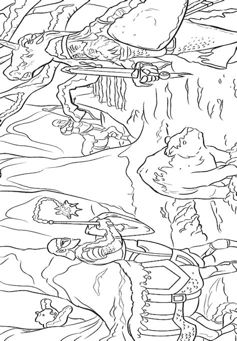 group of narnia coloring pictures coloring pages