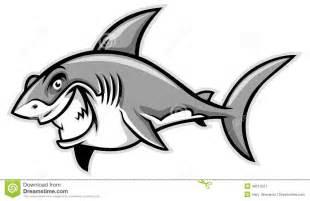 great white shark smiling stock vector image 48513521