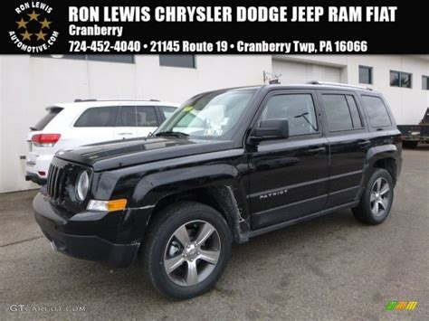 jeep patriot 2017 black 2017 black jeep patriot latitude 4x4 119090568 photo 17
