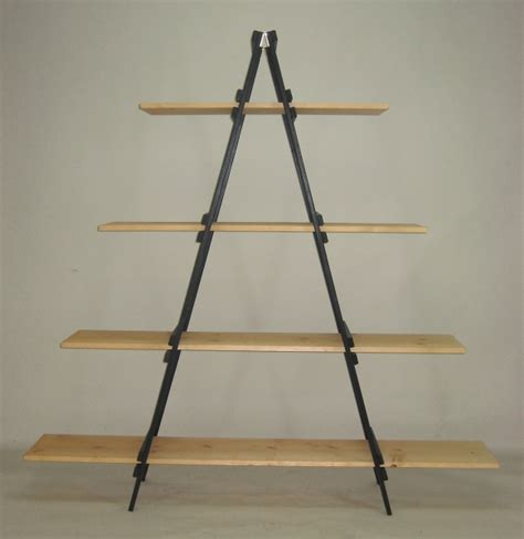 folding display shelves folding a frame display wood a frame display retail floor fixture