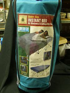 northwest territory size instant bed air mattress collapsible frame ebay