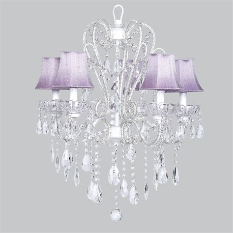Lavender Chandelier Carousel Bright Idea Chandelier Lavender Shades Traditional Chandeliers By Jubilee Collection