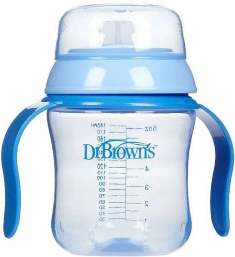 Dr Brown Browns Cup Soft Spout 37 buy dr brown s 180ml cup soft spout blue at mighty ape nz