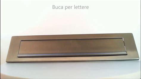 buca lettere buca per lettere in acciaio inox 535