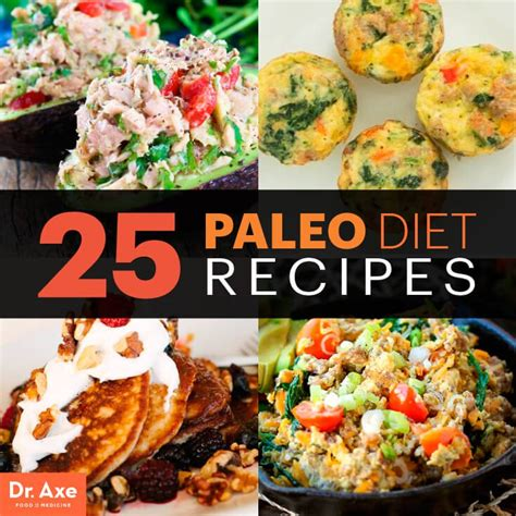 diet food 25 paleo diet recipes dr axe