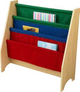 kidkraft primary sling bookshelf with free shipping