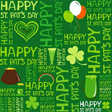 Happy St Pattys Day Are You Wearing Green by S Day