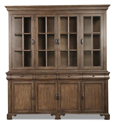 magnolia home traditional buffet and hutch levin furniture