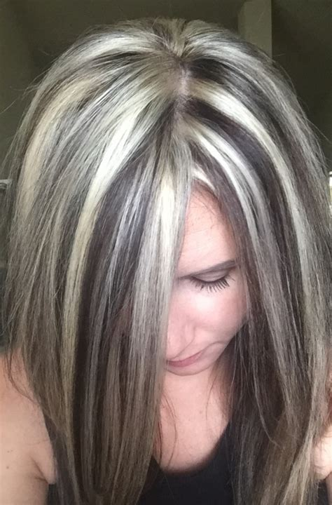 hairstyle to hide grey roots best hair color to hide gray best hair color 2017