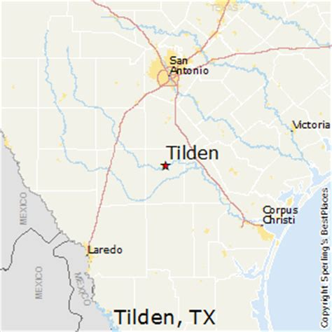 tilden texas map best places to live in tilden texas