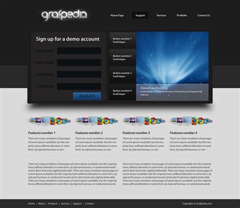 layout for portfolio website design web layout in photoshop 25 fresh tutorials