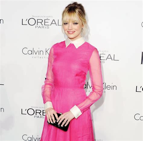 emma stone pink dress how to accessorize the prettiest pink dress chatelaine