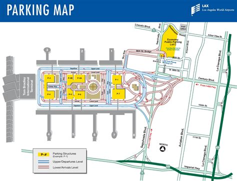 san jose international airport parking map los angeles airport parking map