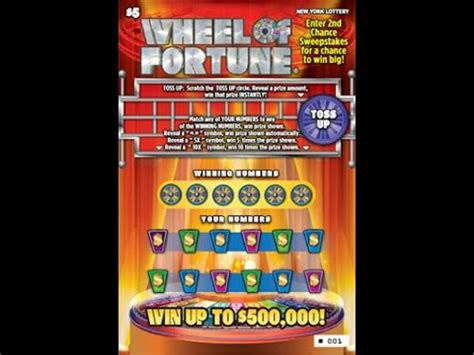 Instant Win Lotto - 5 wheel of fortune win lottery bengal cat scratch off nys instant win tickets win youtube