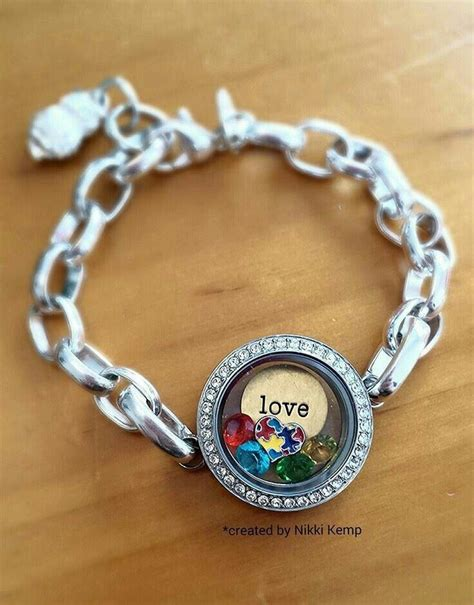 Origami Owl Autism Locket - 55 best images about awareness inspired lockets on