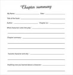 Novel Outline Template Chapter By Chapter by Chapter Summary Outline Template
