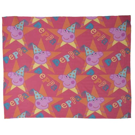 Pig Blankets For Sale by Peppa Pig Fleece Blanket Buy At Qd Stores