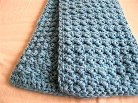 texture pattern scarf easy and textured scarf allfreecrochet com