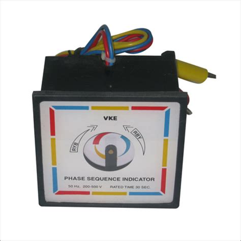 phase sequence inductor 96mm phase sequence indicator