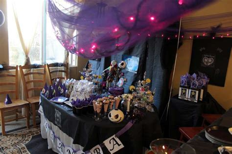 nightmare before christmas birthday party ideas photo 9