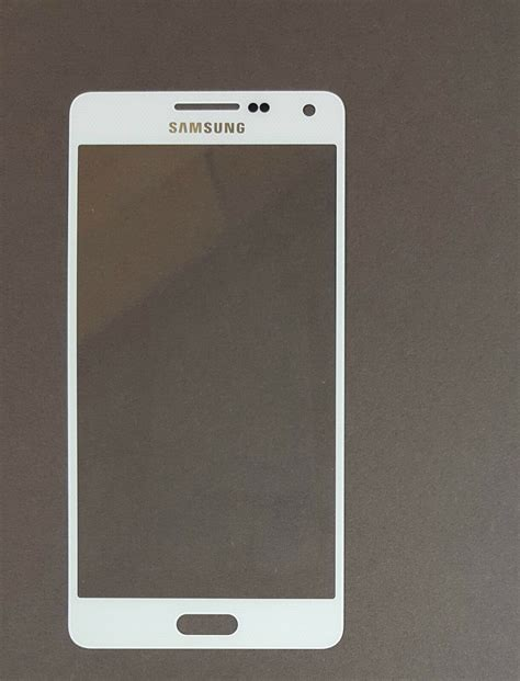 Samsung Repair Samsung Galaxy Alpha A3 Front Glass Screen Replacement Repair Kit White