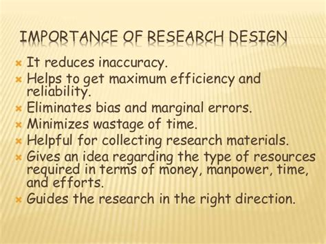 what is the research what is research design explain importance of research