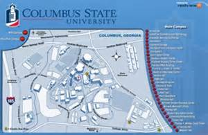 Columbus State Map maps