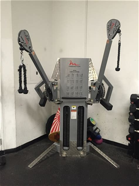 freemotion dual stack cable crossover gymstore