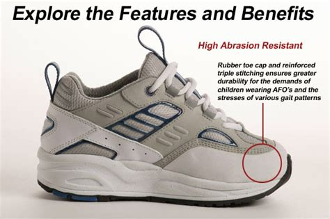 keeping pace boy s orthopedic athletic shoe orthotic shop