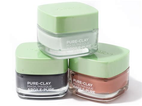 L Oreal Clay Mask 50gr your skin will the new l oreal clay masks