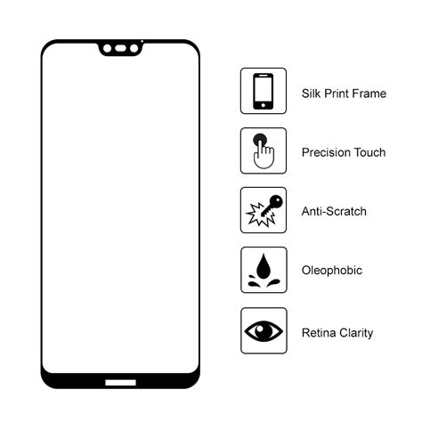 Tempered Glass For Huawei G606 tempered glass screen protector huawei 3e black