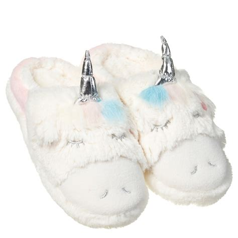 unicorn slippers uk unicorn slippers clothing b m