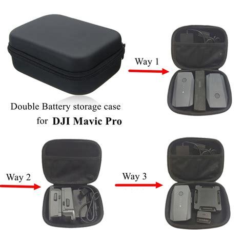 Dji Mavic Battery Storage Bag Hardshell battery storage bag hardshell anti shock protector travel