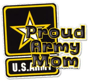 dazzle junction military proud army mom comment graphic