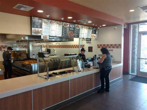 Order Counter Taco Salad Picture Of El Pollo Loco Victorville